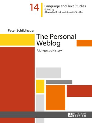 cover image of The Personal Weblog