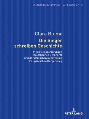 cover image of Die Sieger schreiben Geschichte