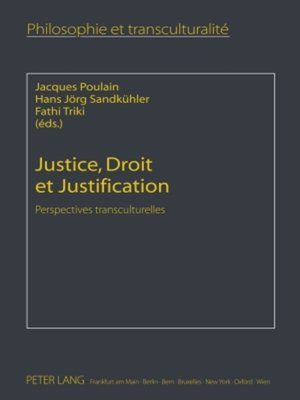 cover image of Justice, Droit et Justification