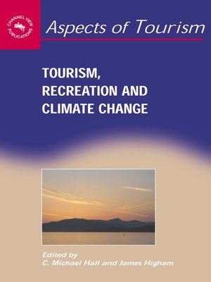 "correlation of climate change to tourism ""the term climate change thus refers to a change in the mean or variability of one or more measures of climate (eg, temperature or precipitation) that persists for an extended period, typically decades or longer, whether the change is due to natural variability, human activity, or both."