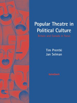 cover image of Popular Theatre in Political Culture