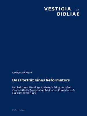 cover image of Das Portraet eines Reformators