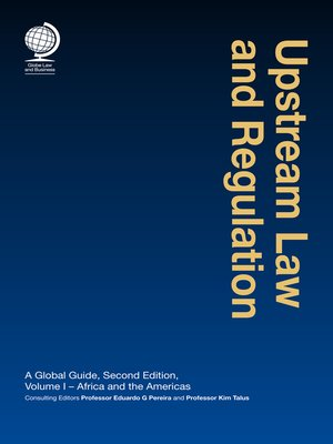 cover image of Upstream Law and Regulation