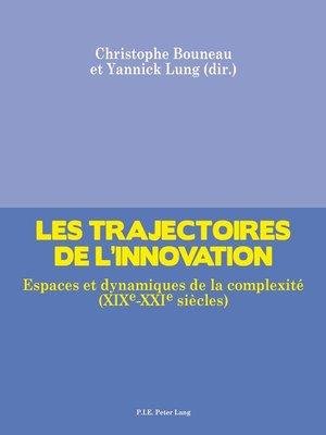 cover image of Les trajectoires de linnovation
