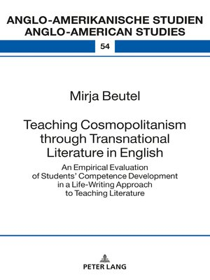 cover image of Teaching Cosmopolitanism through Transnational Literature in English