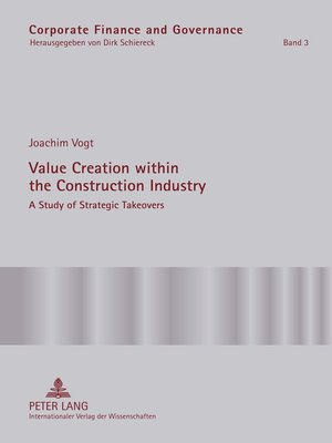 cover image of Value Creation within the Construction Industry