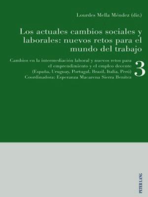 cover image of Los actuales cambios sociales y laborales