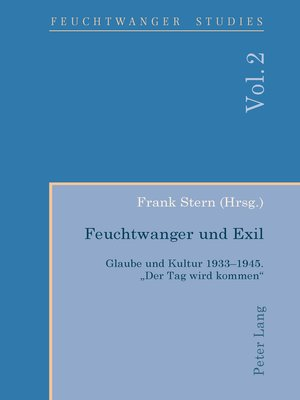 cover image of Feuchtwanger und Exil