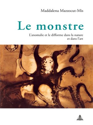 cover image of Le monstre
