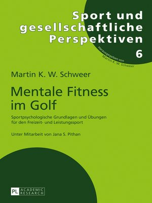 cover image of Mentale Fitness im Golf