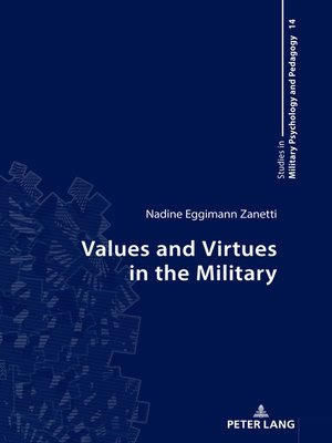 cover image of Values and Virtues in the Military