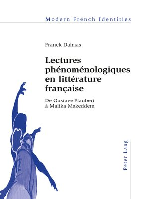 cover image of Lectures phénoménologiques en littérature française