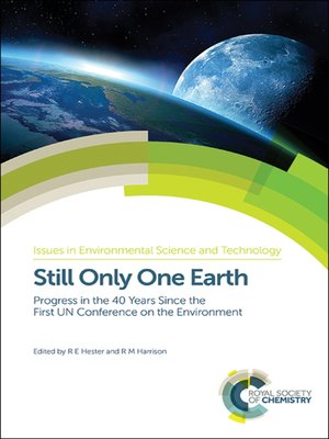 cover image of Still Only One Earth