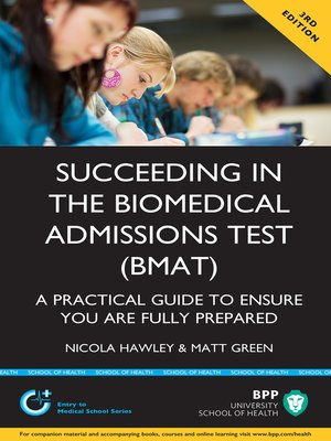 cover image of Succeeding in the Biomedical Admissions Test (BMAT)