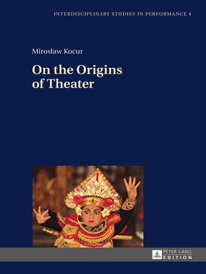 cover image of On the Origins of Theater