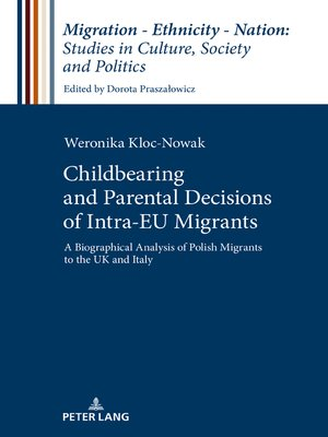 cover image of Childbearing and Parental Decisions of Intra EU Migrants
