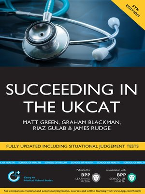 cover image of Succeeding in the UKCAT Revised