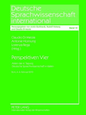 cover image of Perspektiven Vier