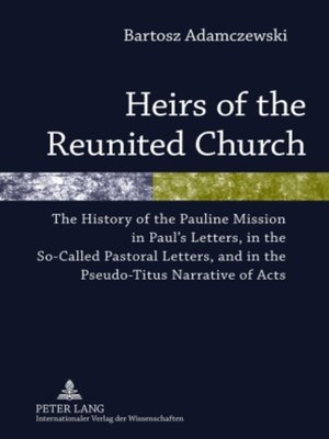 cover image of Heirs of the Reunited Church