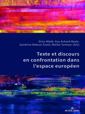 cover image of Texte et discours en confrontation dans lespace européen