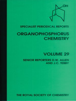 cover image of Organophosphorus Chemistry, Volume 29