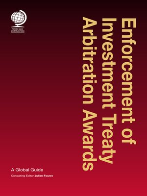 cover image of Enforcement of Investment Treaty Arbitration Awards