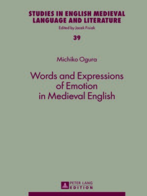 cover image of Words and Expressions of Emotion in Medieval English
