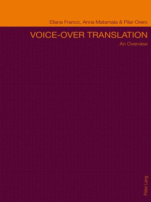 cover image of Voice-over Translation