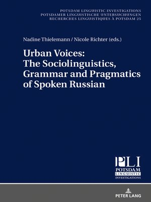 cover image of Urban Voices