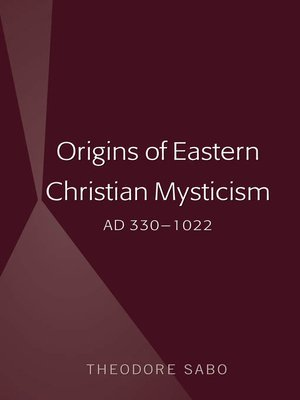 cover image of Origins of Eastern Christian Mysticism