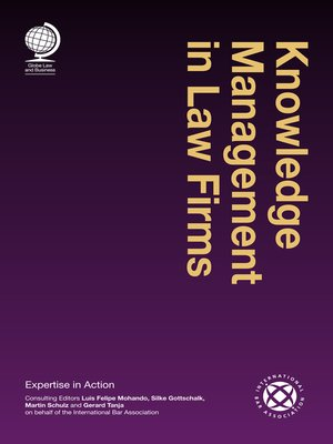 cover image of Knowledge Management in Law Firms