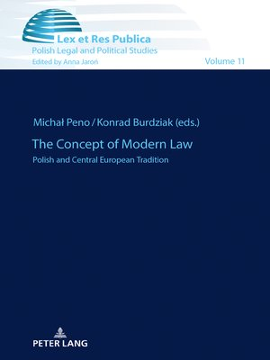 cover image of The Concept of Modern Law