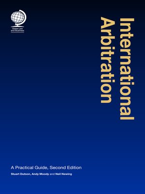 cover image of International Arbitration