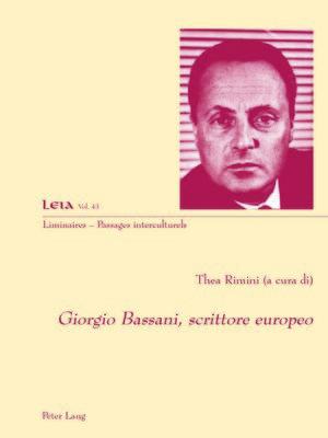 cover image of Giorgio Bassani, scrittore europeo