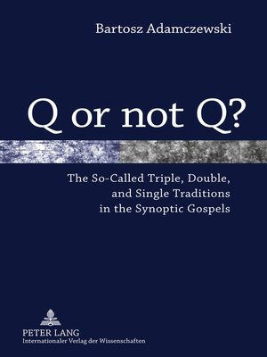cover image of Q or not Q?