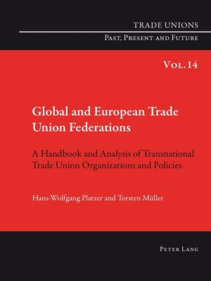 cover image of Global and European Trade Union Federations