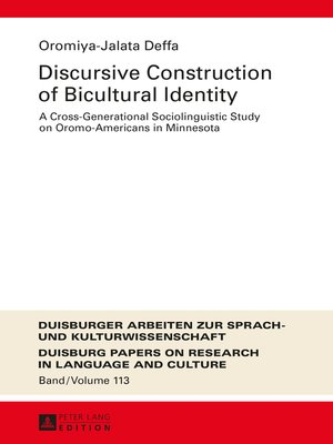 cover image of Discursive Construction of Bicultural Identity