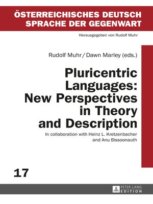 cover image of Pluricentric Languages