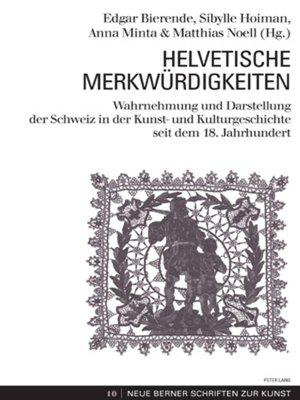 cover image of Helvetische Merkwuerdigkeiten