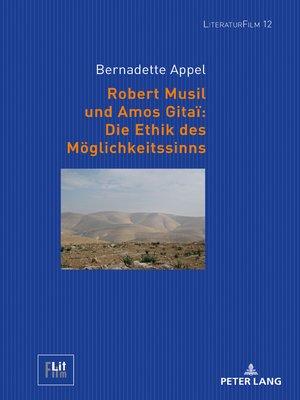 cover image of Robert Musil und Amos Gitaï