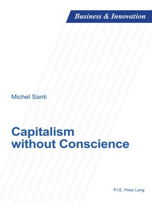 cover image of Capitalism without Conscience