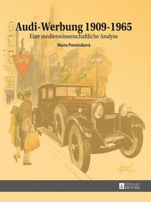 cover image of Audi-Werbung 19091965