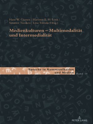 cover image of Medienkulturen