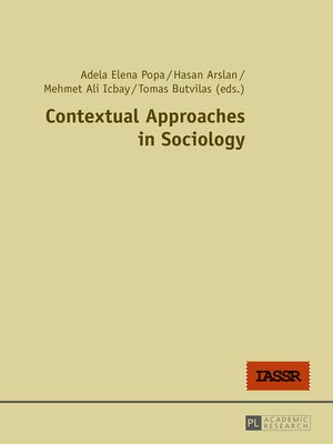 cover image of Contextual Approaches in Sociology