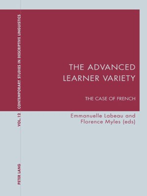 cover image of The Advanced Learner Variety