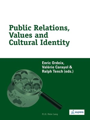 cover image of Public Relations, Values and Cultural Identity