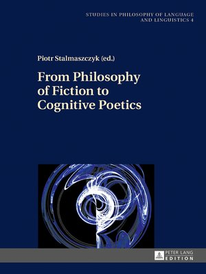 cover image of From Philosophy of Fiction to Cognitive Poetics