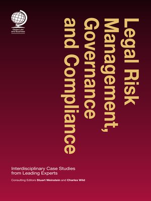 cover image of Legal Risk Management, Governance and Compliance