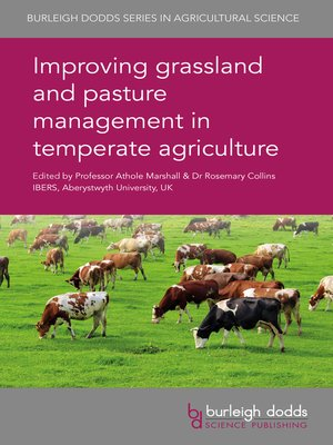 cover image of Improving grassland and pasture management in temperate agriculture