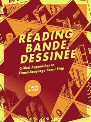 cover image of Reading Bande Dessinée
